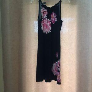 INC size Medium Black/ Pink dress